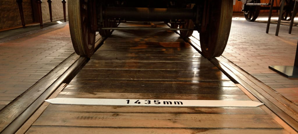 1435mm-gauge