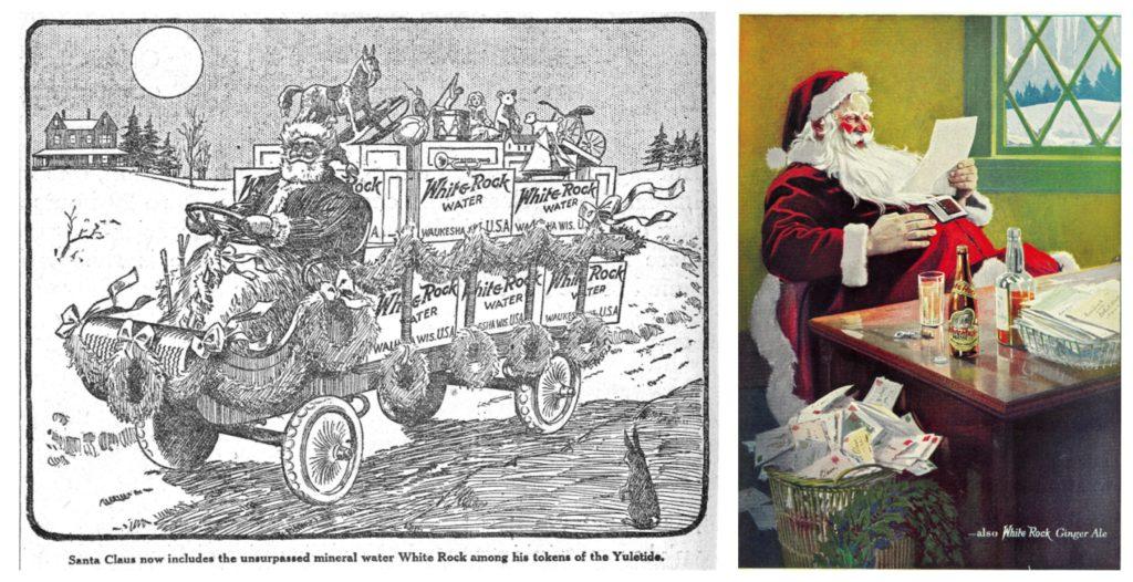 Inserzioni pubblicitarie della White Rock Waters, 1915 - 1923