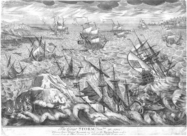 1703 great storm
