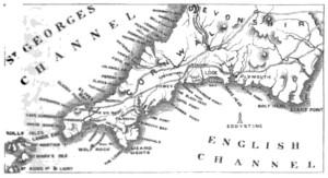 Eddystone map 1861