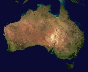 Australia (foto: NASA)