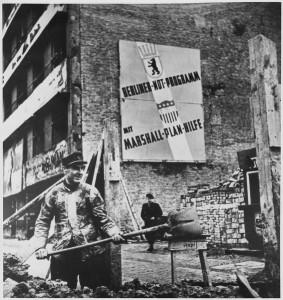 Piano Marshall, Berlino