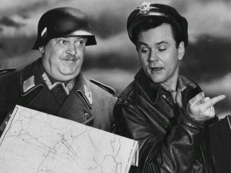John_Banner_Bob_Crane_Hogans_Heroes_1965