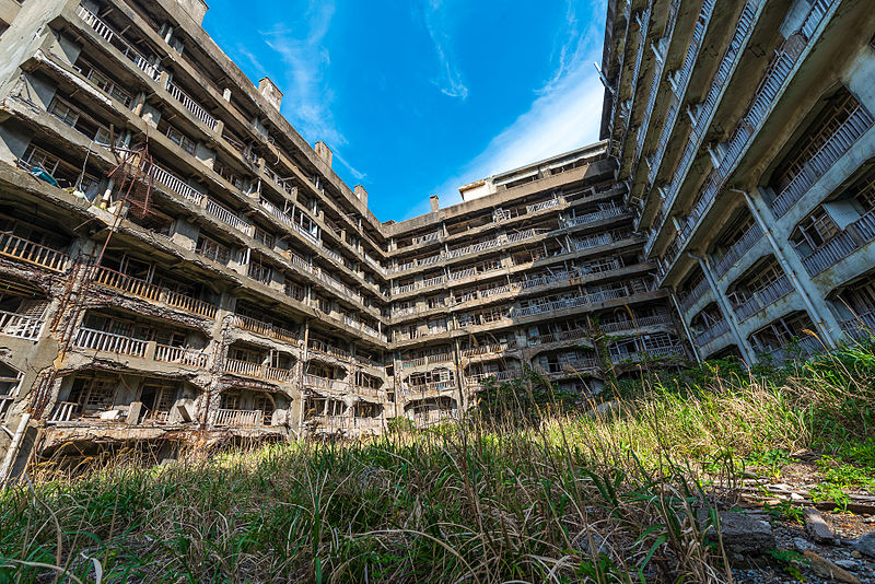 Block_65_on_Hashima_Island