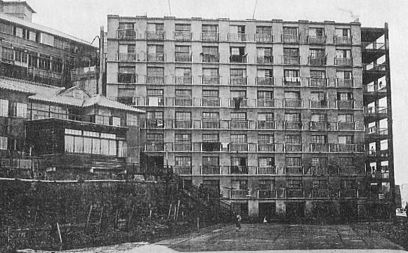 Hashima_apartment_building_circa_1930