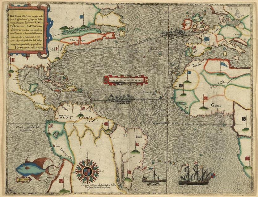 Boazio-Sir_Francis_Drakes_West_Indian_Voyage