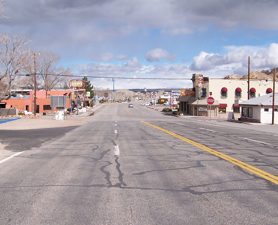 Downtown Beatty Nevada USA