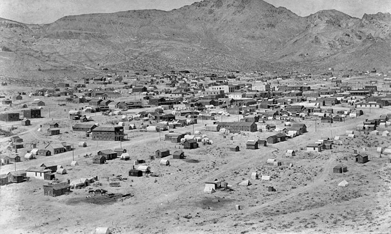 Rhyolite tra il 1905 ed il 1908