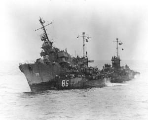 USS_William_D._Porter_(DD-579)_sinking