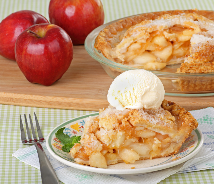 Apple Pie Slice © chas53 - Fotolia.com