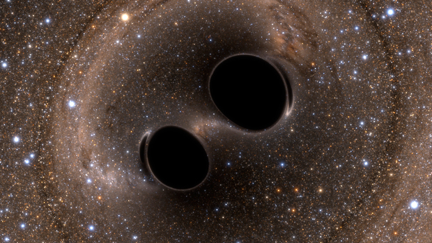 Black_hole_collision_and_merger_releasing_gravitational_waves