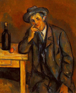 """Il bevitore"", Paul Cezanne"
