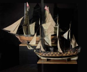 Museo Stibbert: velieri, souvenir di viaggio.