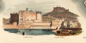 Castello Nuovo and Castello di S. Elmo.