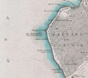 Üsküdar e Torre di Leandro, 1841.