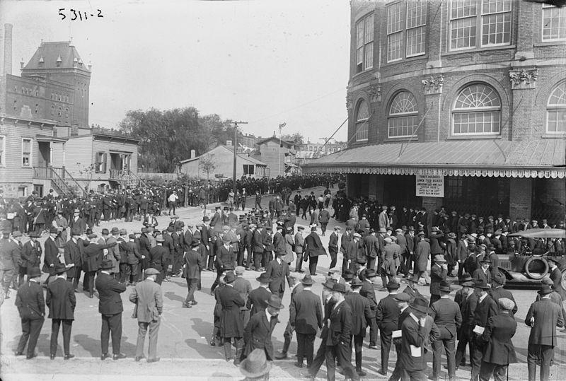 ingresso di Ebbets Field nel 1920