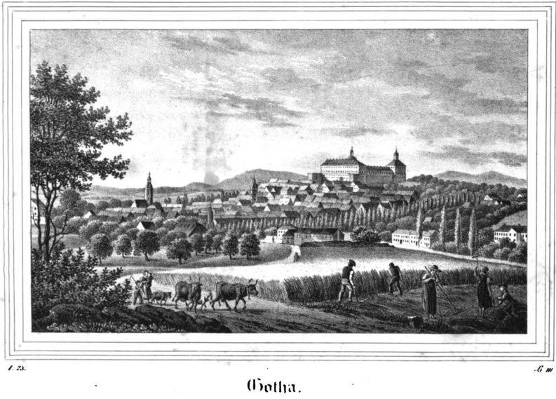 Gotha 1835, Eduard Sommer