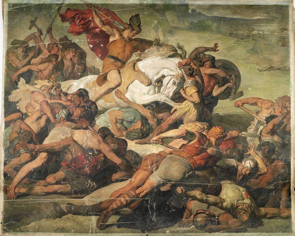 La vittoriosa avanzata di Arminio (Der siegreich vordringende Hermann)