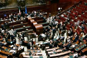 Camera dei Deputati italiana nel 1983