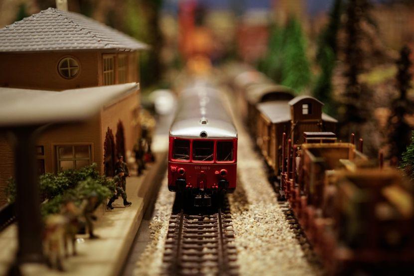 """""""Diorama"""" ferroviario"""