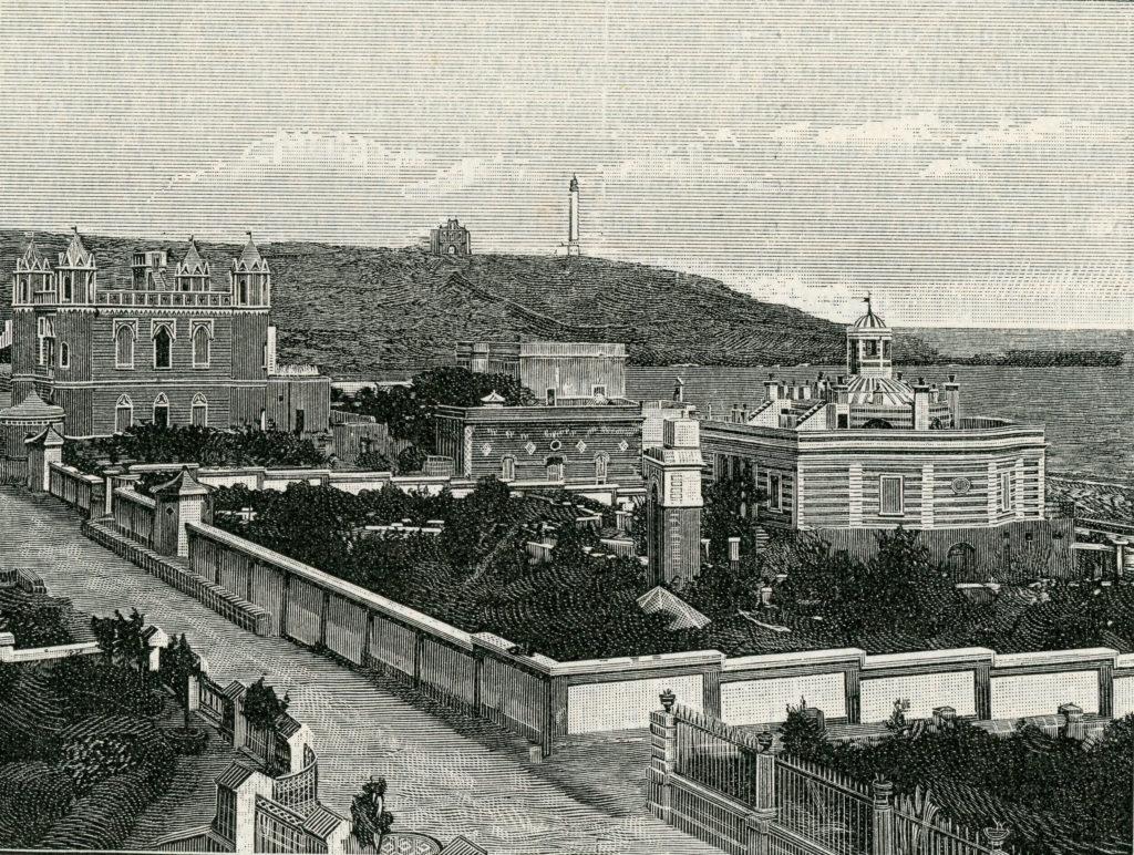 Marina di Leuca in una incisione del 1899
