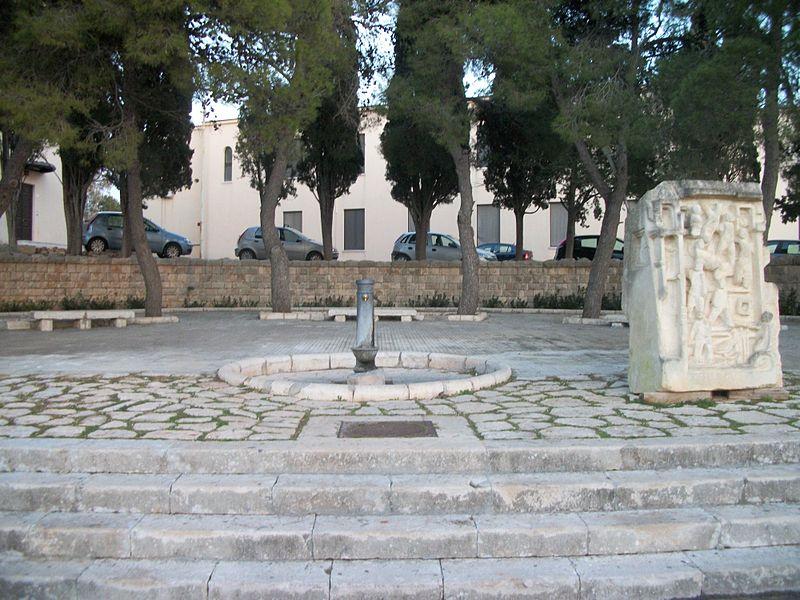 Ultima fontana dell'acquedotto pugliese a Leuca