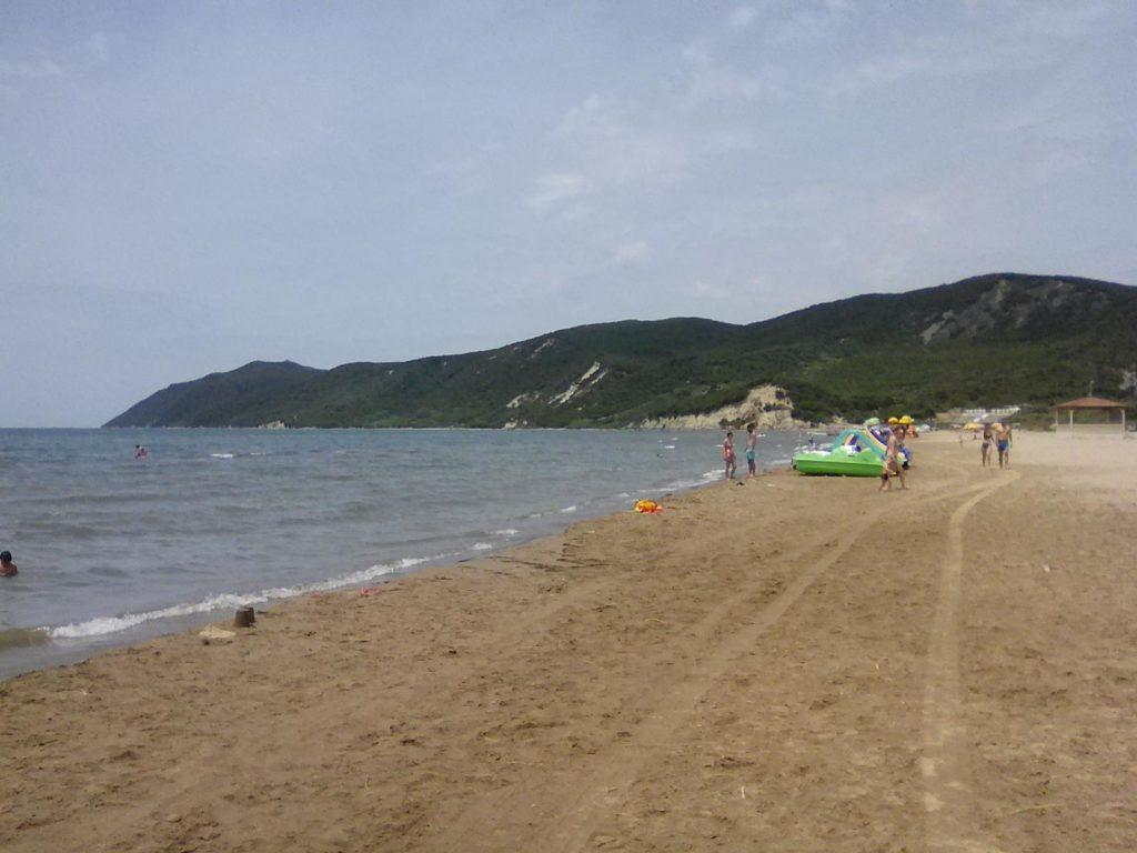 spiaggia a San Pietro, Albania