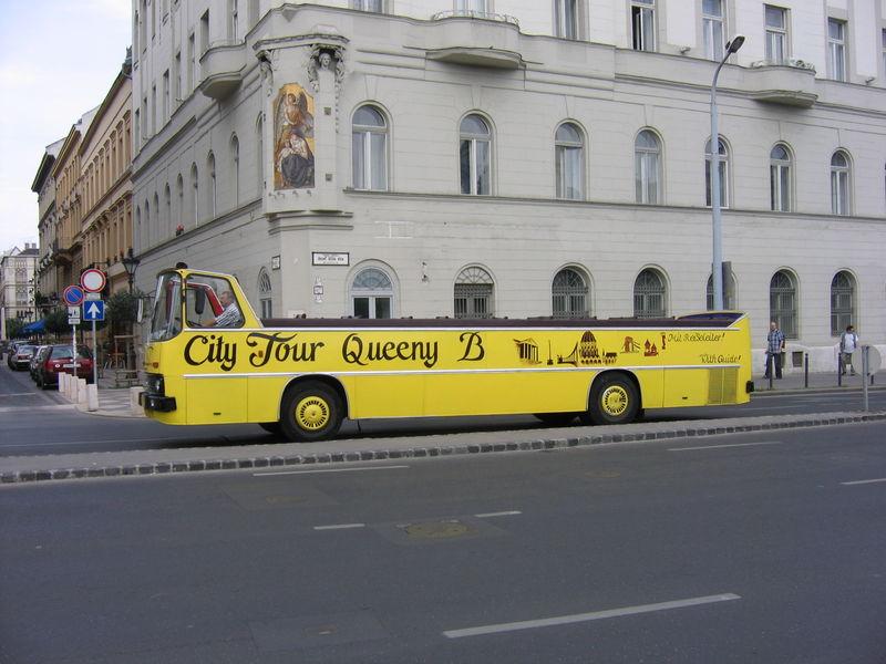 Un torpedone a Budapest.