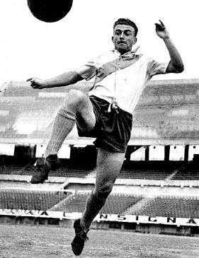 Alfredo Di Stéfano al River Plate negli anni 40.
