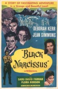 """Black narcissus"" (1947) poster"
