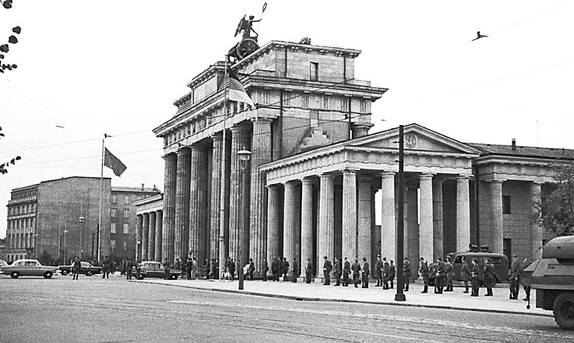 muro di Berlino 13 agosto 1961