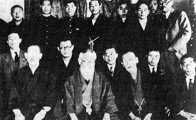 riunione della Gen'yōsha nel 1929