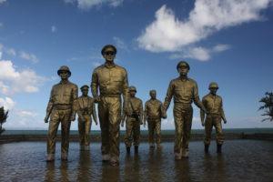 MacArthur Landing Site monument