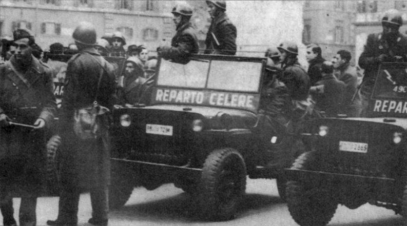 Reparto Celere Polizia di Stato, 1949