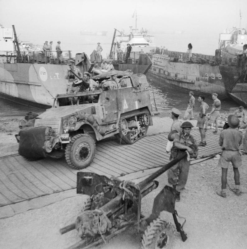 """Operazione """"Baytown"""": gli alleati sbarcano a Reggio Calabria il 3 settembre del 1943."""