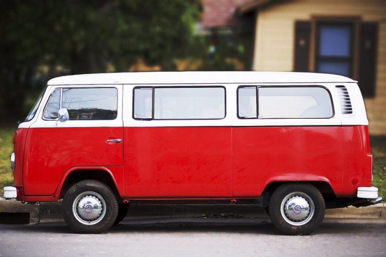 Volkswagen Type 2 rosso