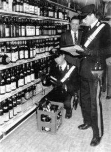 controlli carabinieri vino al metanolo, 1968