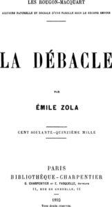 La Débâcle di Émile Zola