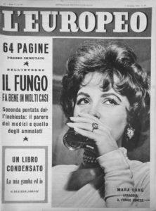 copertina de L'Europeo, dicembre 1954