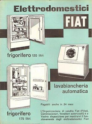 Pubblicità elettrodomestici FIAT del 1954
