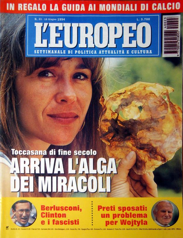 copertina L'Europe 15 giugno 1994