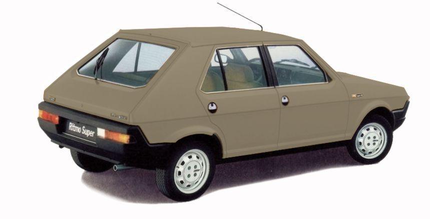 Fiat Ritmo beige