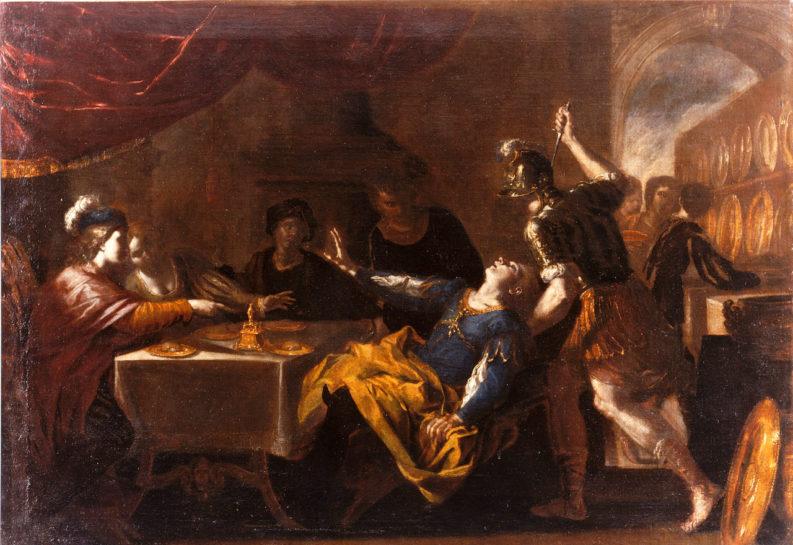 """""""Convitto di Ansallonne"""" (att. a) Niccolò de Simone, 1650 circa."""