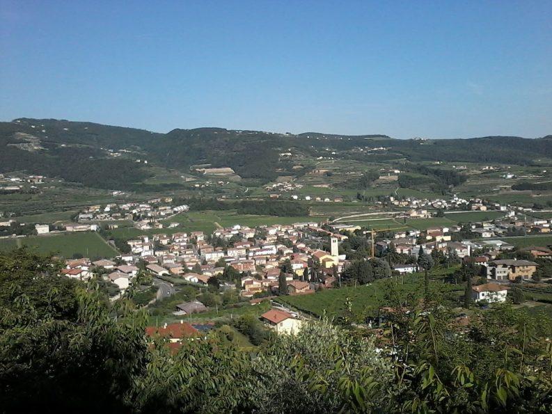 panorama di Negrar, Valpolicella