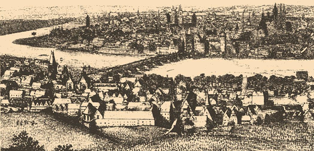 La Città Vecchia, da <em>Brockhaus and Efron Jewish Encyclopedia</em> (1906—1913).