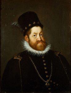 Rodolfo II del Sacro Romano Impero, ritratto del 1594 di Jospeh Heintz il Vecchio.