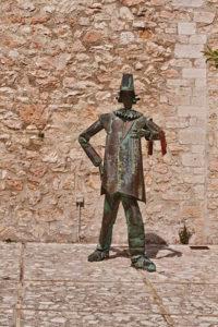 Monumento al ciarlatano a Cerreto di Spoleto