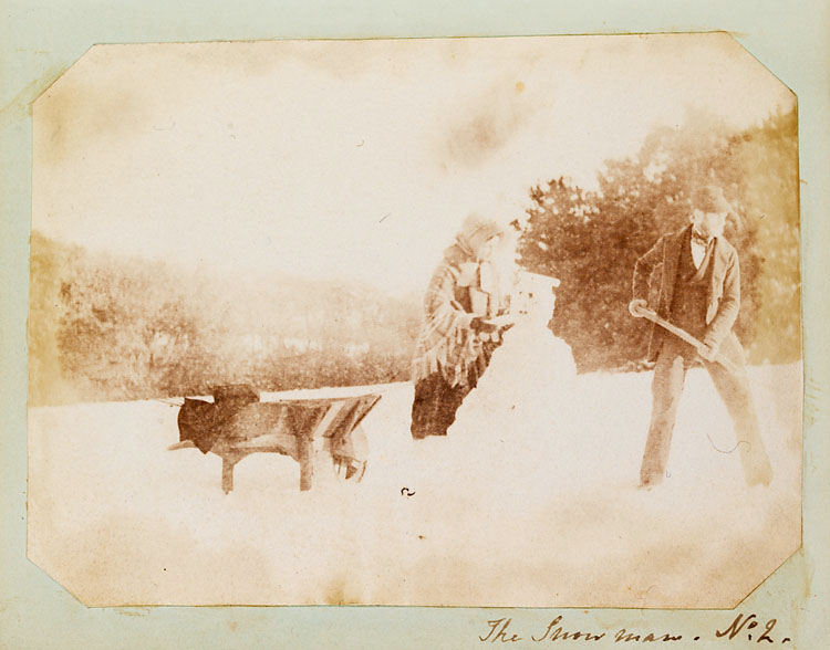 uomo di neve 1853
