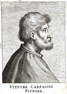 ritratto di Vittore Carpaccio