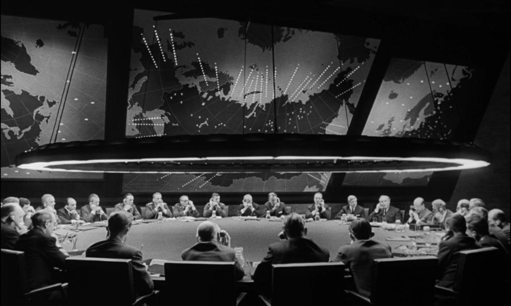 sala della guerra Dr. Strangelove.